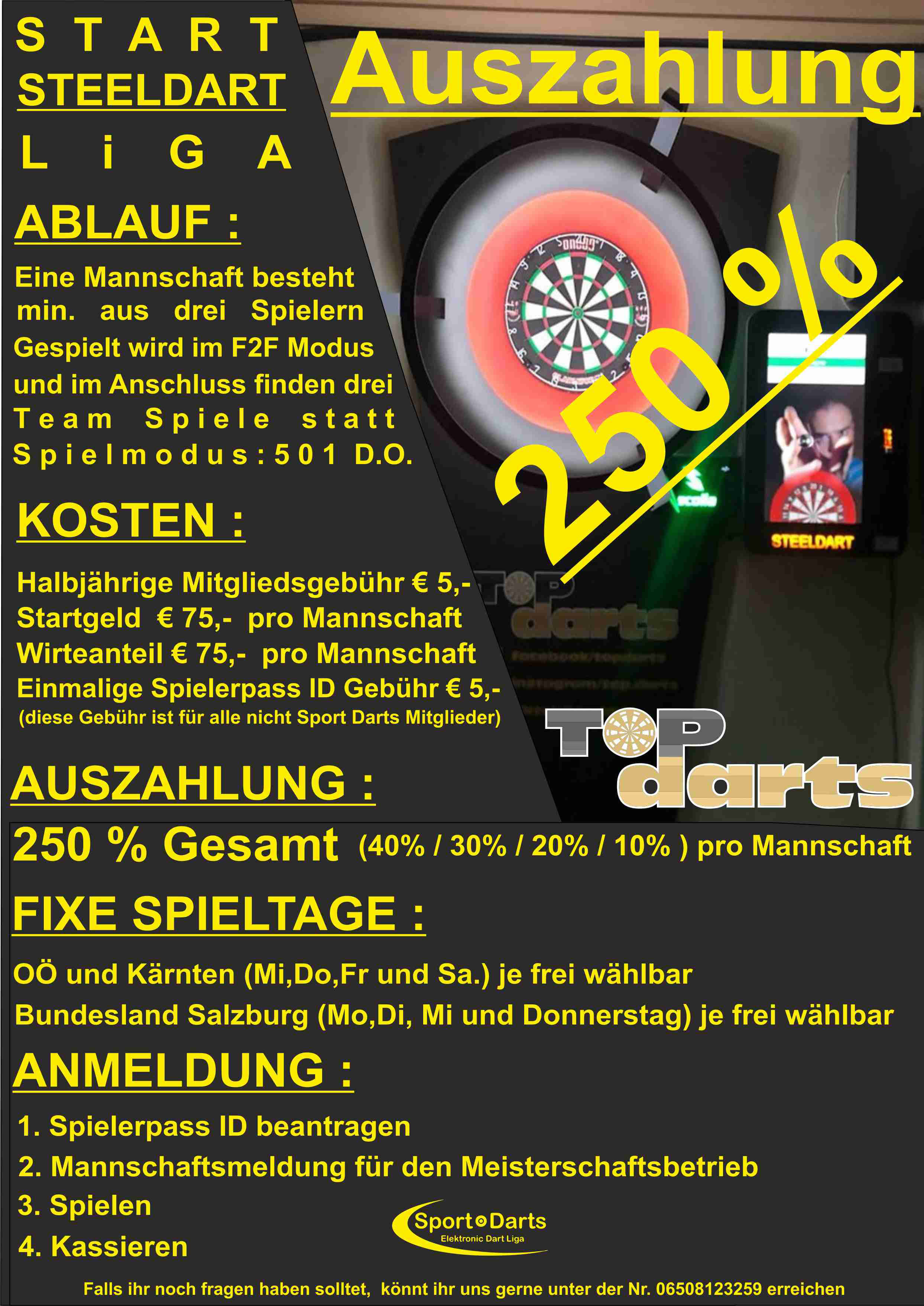 Topdarts Flyer 2